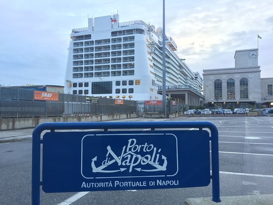Norwegian Epic: Naples, Italy, docked at Port of Naples