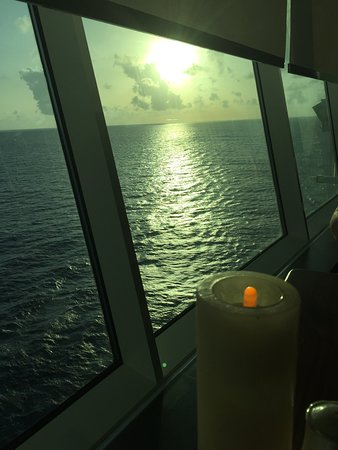 Liberty of the Seas: View of the ocean from Giovanni