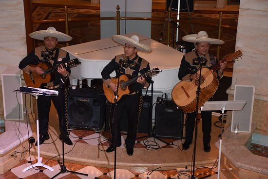 Ruby Princess: Mexican musicians who were very good & very entertaining.