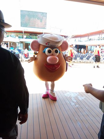 Carnival Magic: On board