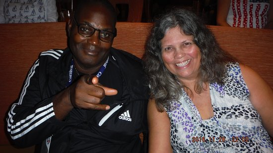 Carnival Magic: A hot sexy mama selfie of me with my mandingo husband.