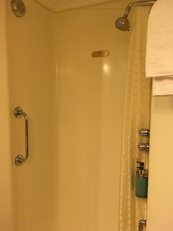 Emerald Princess: The shower