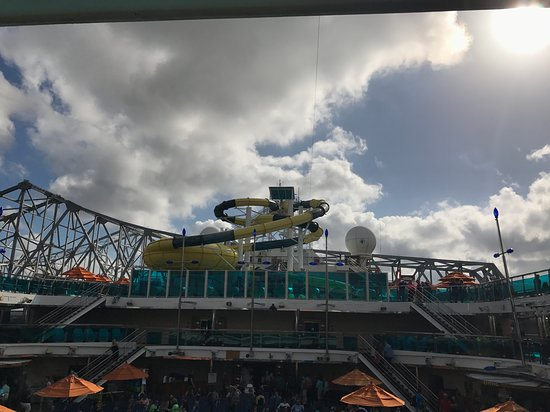Carnival Dream: Water slides!