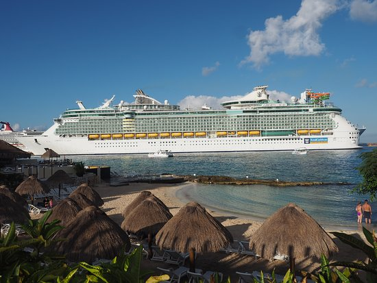 Liberty of the Seas: The Liberty in Cozumel