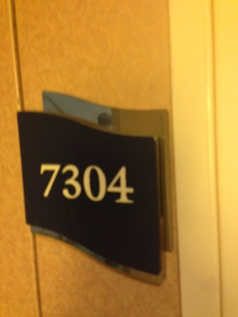 Liberty of the Seas: Room number