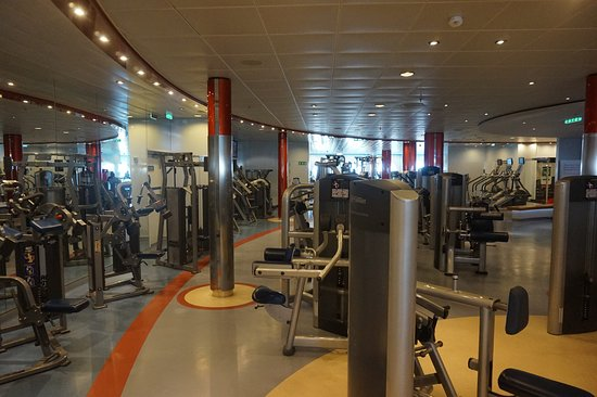 Allure of the Seas: The Gym