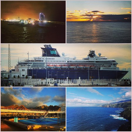 The many vistas from Pullmantur Horizon. From Sailing away and watching day fade into night in Barcelona to sunrises at a day in Sea the Horizon was filled with endless vistas perfect for lazy days sitting on a deck chair and watching the views.