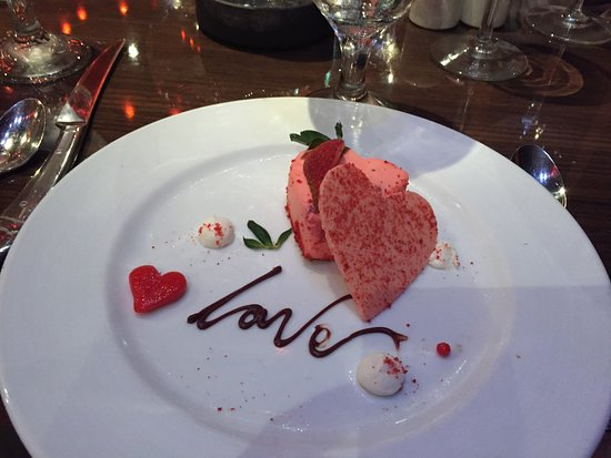 Carnival Dream: Valentine's Day dessert