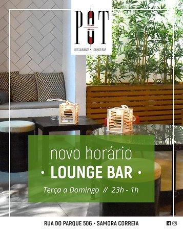 O nosso Lounge Bar tem novo horário: aberto até à 1h! 🕐   Desfrute de um final de noite, na companhia dos nossos cocktails únicos! 🍸