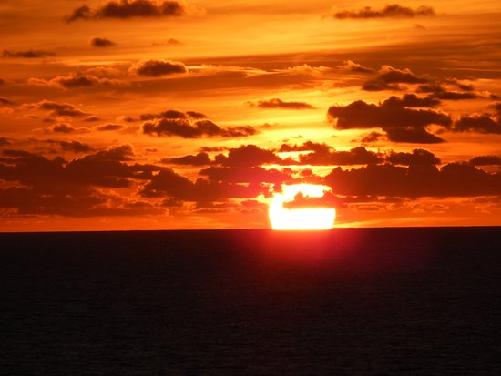 Celebrity Eclipse: one of many beautiful sunsets