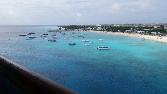 Carnival Splendor: Grand Turk from our Balcony