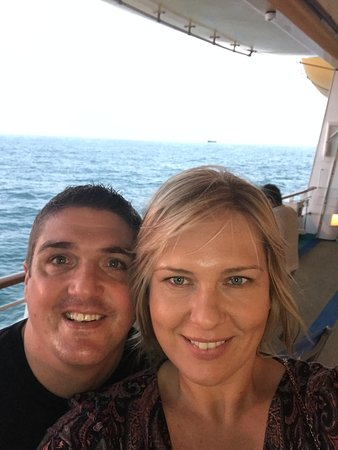 Independence of the Seas: My wife and I