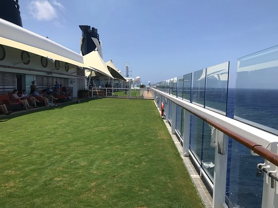 "Celebrity Equinox: This is part of the ""Lawn"""
