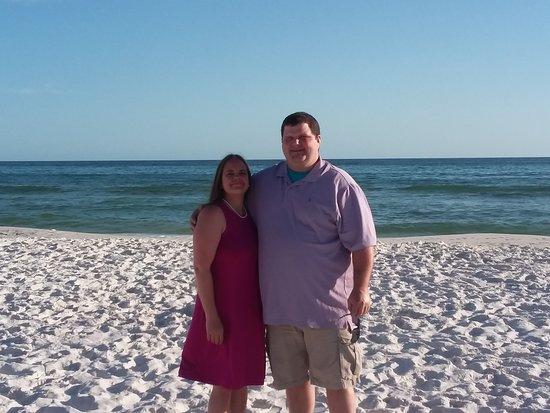 Santa Rosa Beach, FL: MY WONDERFUL HUSBAND AND I