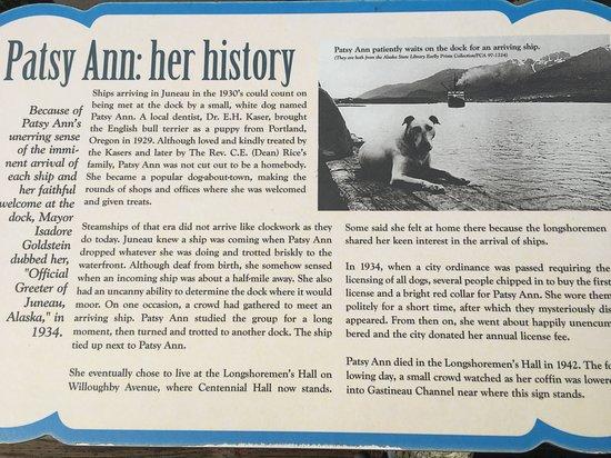 Emerald Princess: Juneau, Patsy Ann the great visiting dog!