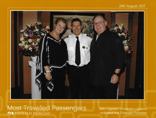 Emerald Princess: Elite Cruiser cocktails with the Captain