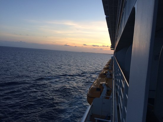Disney Dream: View from cabin