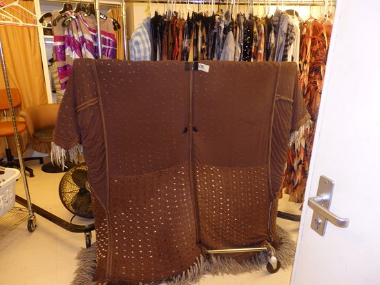 Oasis of the Seas: Backstage at the Opal Theater - Old Deuteronomy's coat!