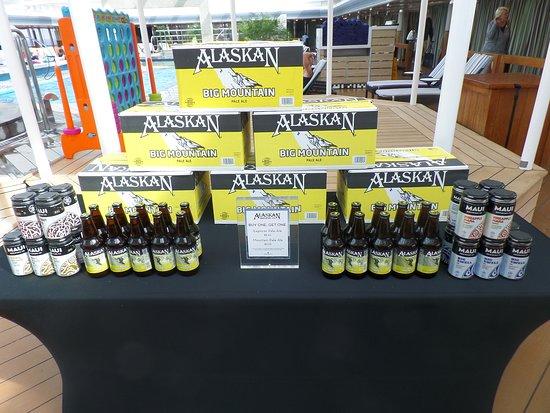 Eurodam: Alaskan beer