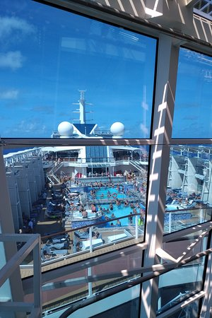 Celebrity Equinox: Pros 1. Great food 2. Great Service 3. Rooms and Facilities 4. Gym is awesome 5. Entertainment decent.  6. WiFi is actually decent  Cons 1. The pool is tiny - like really tiny. It