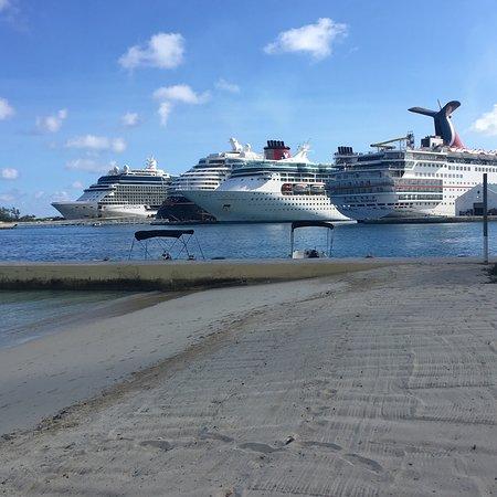 Celebrity Equinox: Docked in Naussa Bahamas