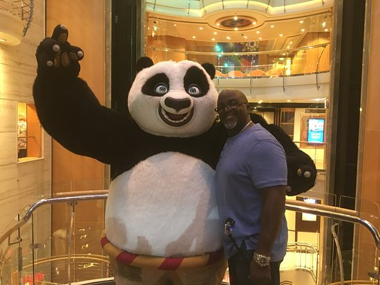 Liberty of the Seas: Chillin with THE PANDA