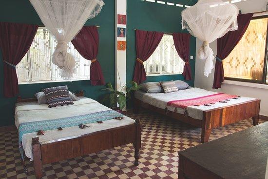 Kampot, Cambodia: Room Emerald