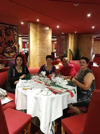 MSC Sinfonia: Dinner, Italian night