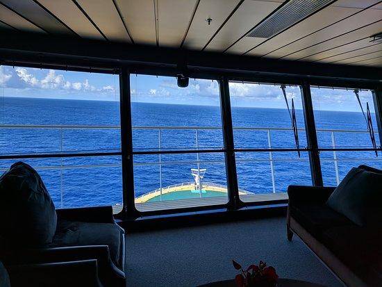 Allure of the Seas: At bridge