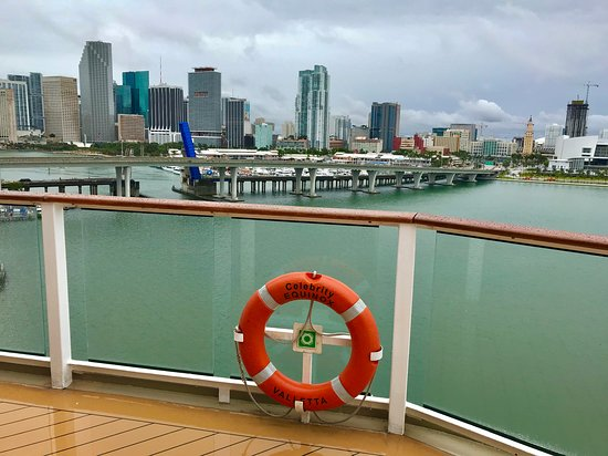 Celebrity Equinox: Miami, sail away