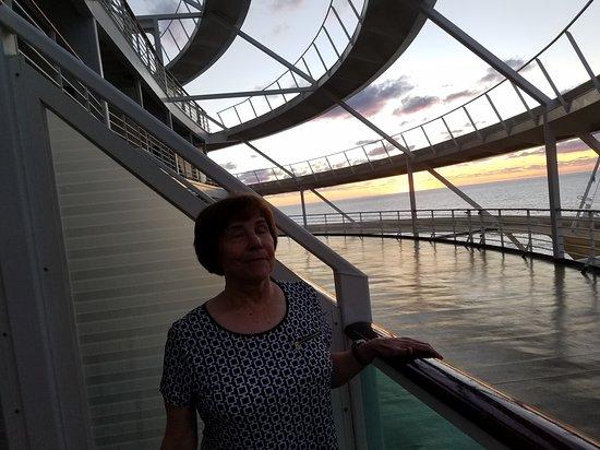 Liberty of the Seas: Balcony my friend