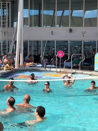 Allure of the Seas: Volley ball