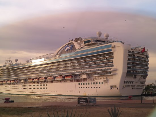 Ruby Princess: Took this picture when we're at Puerto Vallarta.