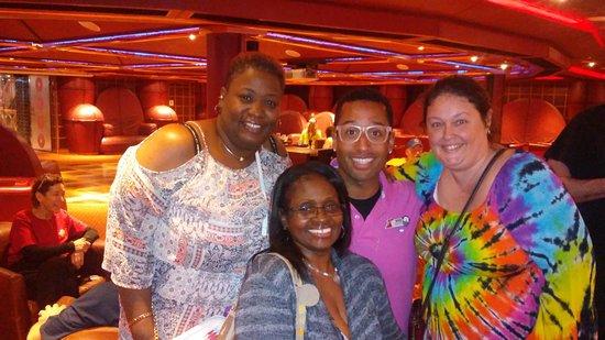 Carnival Splendor: MarQ at the cruise critic meet