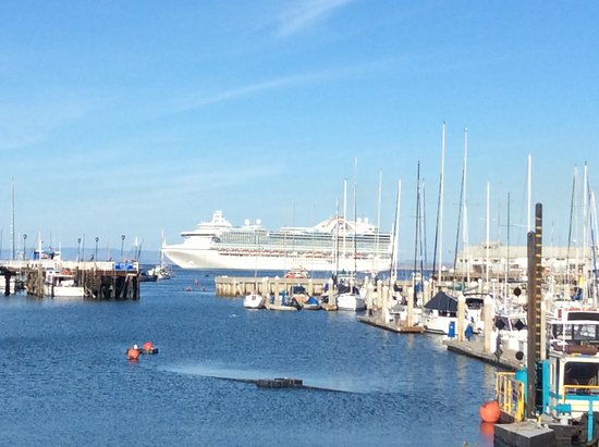Ruby Princess: Ruby in Monterey