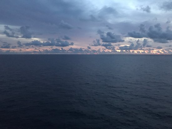 Liberty of the Seas: Beautiful view from the ship!