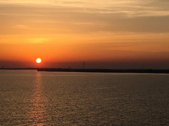 MSC Splendida: Sail away from Sir Bani Yas Island.