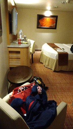 Celebrity Equinox: Just got our luggage...our room for 6 nights