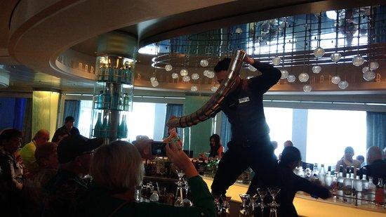 Celebrity Equinox: Martini Bar