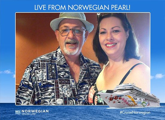 Norwegian Pearl: On the ship!!!