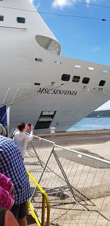 MSC Sinfonia: Embarking at Durban Harbour