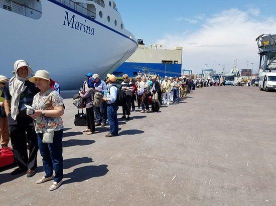 Marina: Embarkation