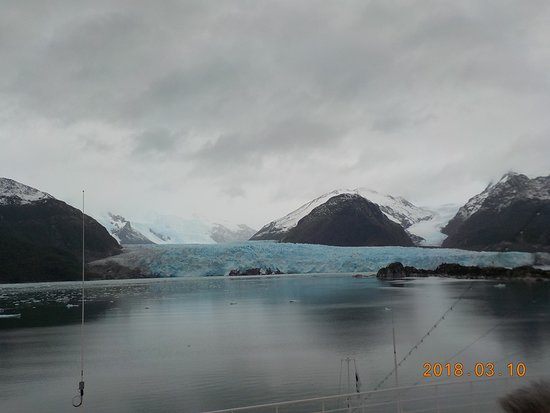 Emerald Princess: Amalia Glacier