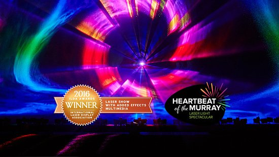 Heartbeat of the Murray Laser Light Show