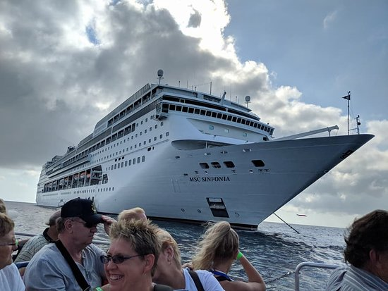 MSC Sinfonia: View of the ship
