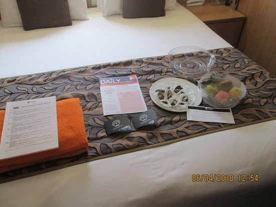 MSC Sinfonia: Our gifts in the cabin