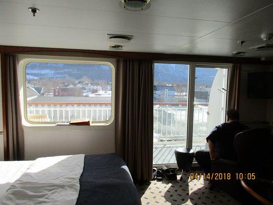 Finnmarken: Patio  Suite 611