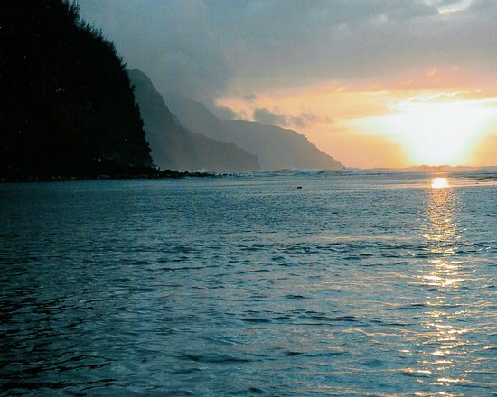 Celebrity Equinox: Sunset  on the water