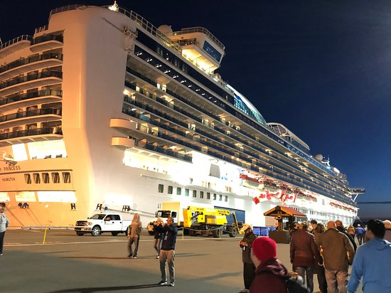Ruby princess in Canada