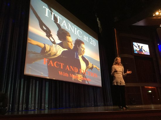 Celebrity Solstice: The Beyond the Podium speakers were fabulous!
